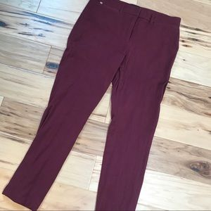 WHBM Sz 8 the skinny ankle pants